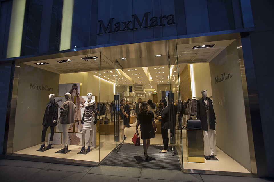 Shop for a Cause at MaxMara held by Aidan's Red Envelope Foundation, in Beverly Hills on Thursday, October 3, 2013. (Photo by Ringo Chiu/PHOTOFORMULA.com)